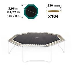 Toile de saut pour trampoline Waouuh 430 à 104 ressorts 230mm