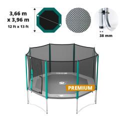 Waouuh 390 Premium trampoline net