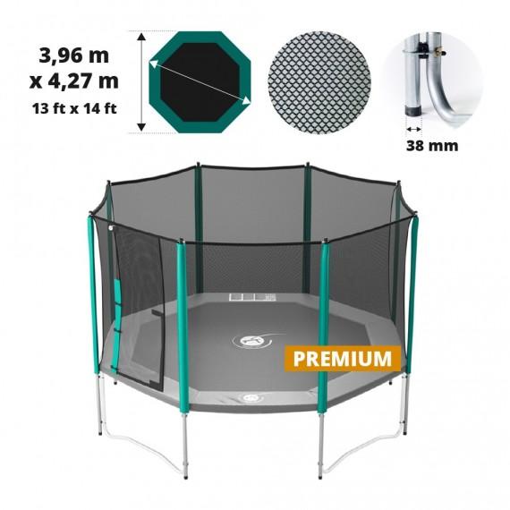 Waouuh 430 Premium trampoline net