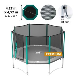 Filet de protection pour trampoline Waouuh 460