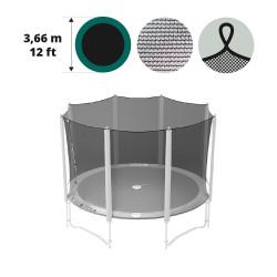 Filet textile avec sangles pour trampoline 360