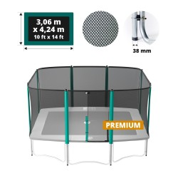 Filet de protection pour trampoline Apollo Sport 400