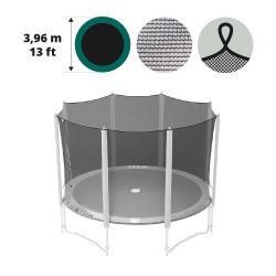 Filet textile avec sangles pour trampoline 390