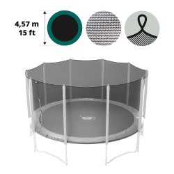 16ft trampoline net with straps