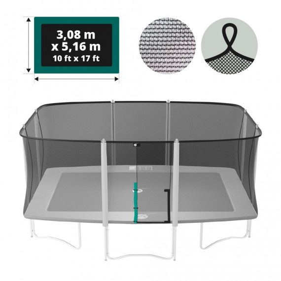 Apollo Sport 500 trampoline net with straps