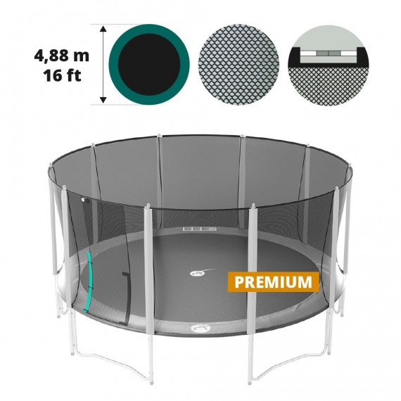 16ft Premium trampoline net