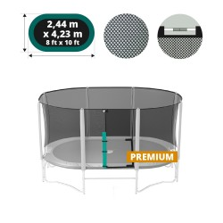 14ft Ovalie Premium trampoline net