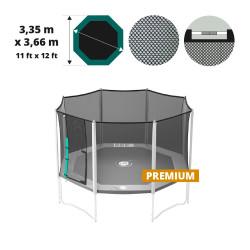 12ft Waouuh Premium trampoline net