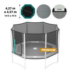 Premium textile net for 15ft. Waouuh 460