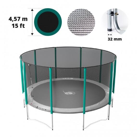 Filet de protection pour trampoline 180