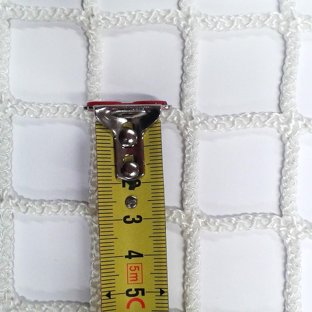 filet de catamaran mailles tress es de 30 mm blanc noir. Black Bedroom Furniture Sets. Home Design Ideas