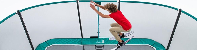 Rectangular trampolines