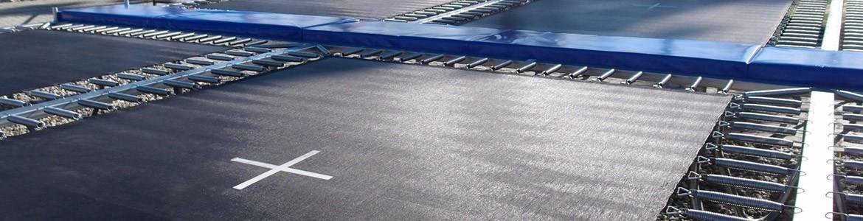 Pièces de rechange & sur-mesure pour trampolines professionnels
