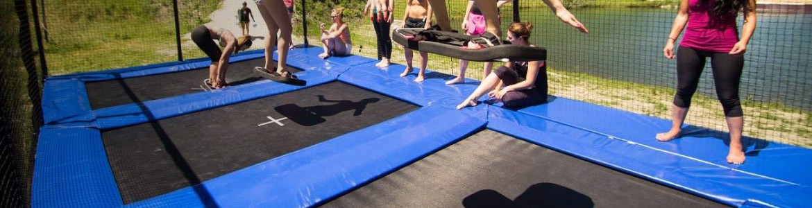 Discover our professional trampoline projects
