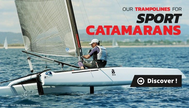 Our trampolines for sport catamarans