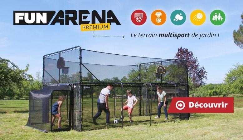 Découvrez le Fun Arena : Le terrain multisport de jardin !