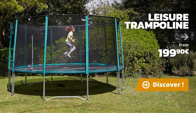 Leisure trampolines from 199,90€
