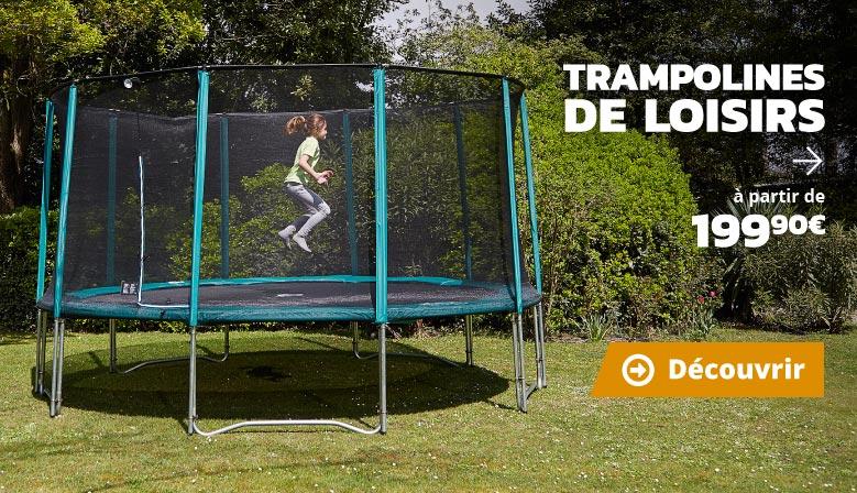 Trampolines de loisirs à partir de 199€90