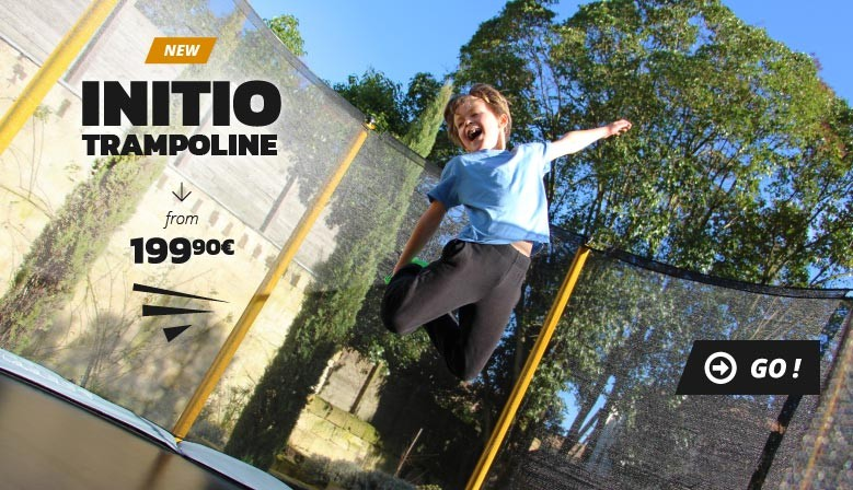 New Initio trampoline from 199€90 !