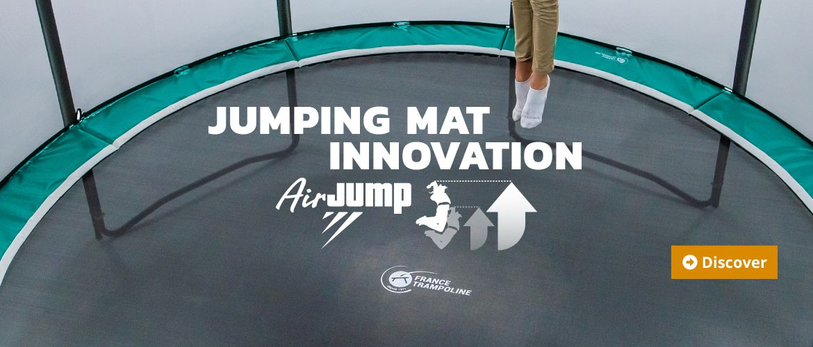 The new AirJump jumping mat