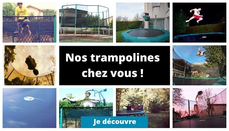 Vos photos de trampolines sur les réseaux sociaux