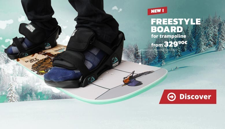 New : Freestyle Board for trampoline!