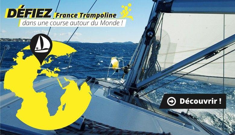 Défiez France Trampoline dans une course autour du Monde !