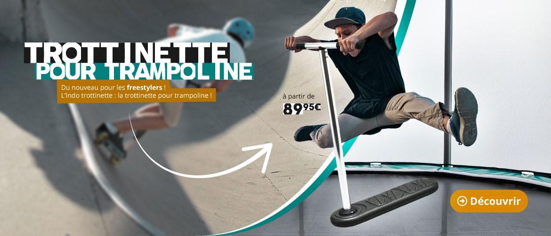 Freestylers : découvrez la trottinette pour trampoline