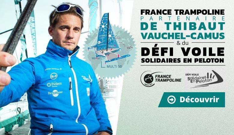 France Trampoline partenaire de Thibaut Vauchel-Camus