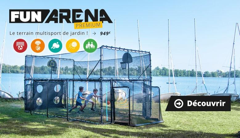 Découvrez la Fun Arena : le terrain multisport de jardin !