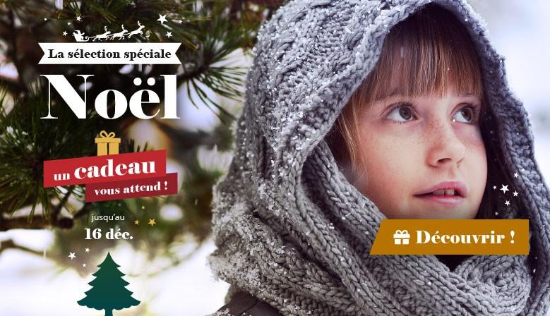 La sélection spéciale Noël... un cadeau vous attend !