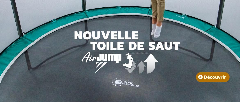 Nouvelle toile de saut AirJump