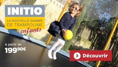 La nouvelle gamme de trampoline INITIO !