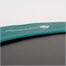 Trampoline frame pad