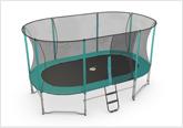 Oval recreational Trampoline
