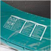 Vérifier le coussin de protection du trampoline
