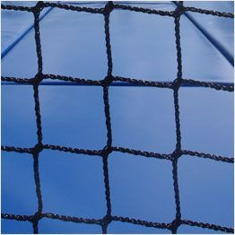 Close up netting professional trampoline