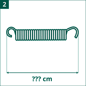 Evaluate length of springs