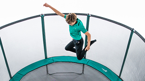 Leisure trampolines
