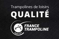 Trampolines de loisirs, la qualité France Trampoline