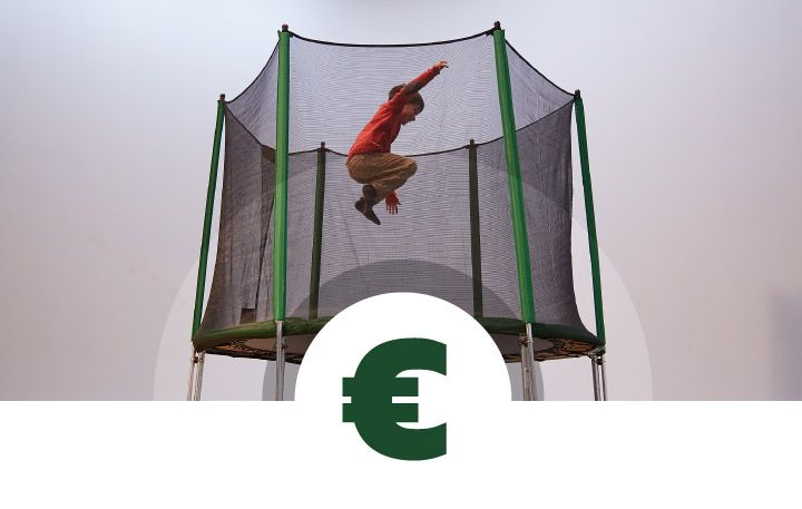 Trampolines for all types of budget