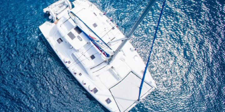 Trampolines for cruising catamarans