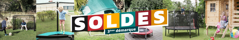 SOLDES France Trampoline 3ème démarque !