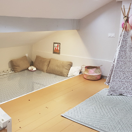 Create a child's mezzanine room