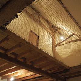 Filet d'habitation d'angle
