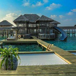 Sunbed net - Hotel on pilings