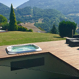 Filet de protection pour piscine