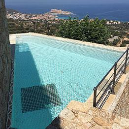 Filet de protection pour piscine