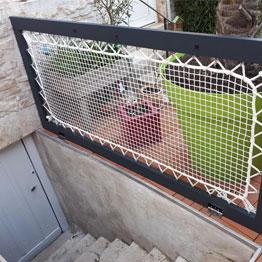 Filet d'habitation terrasse
