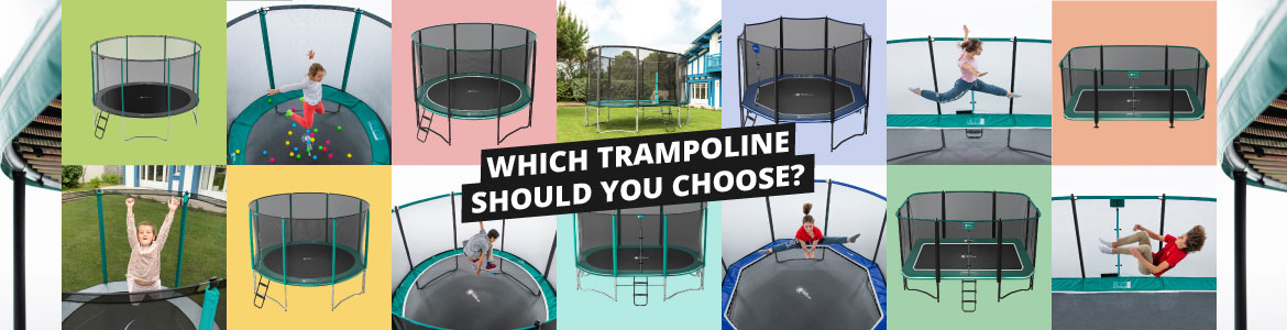 Gamme trampolines 2020